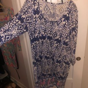 Lily Pulitzer Dress Size XL great condition